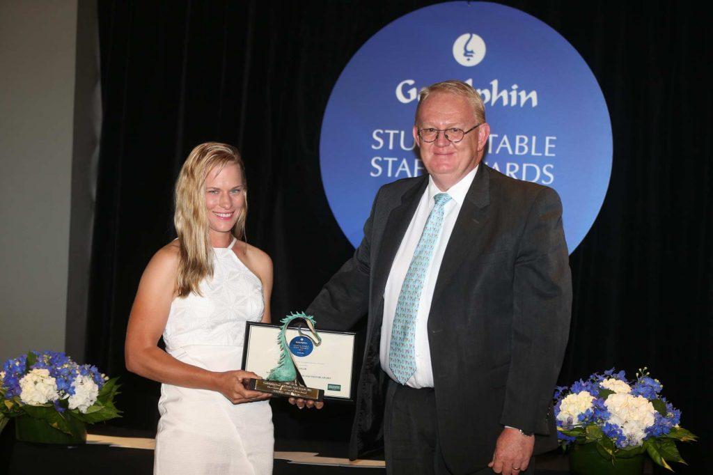 AMYTAYLOR-racehorse retirement program award